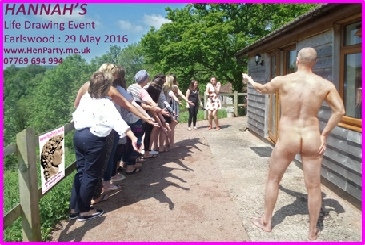 THe sun shines on the rightious and this fun Life Drawing Class in the valleys of Wales.