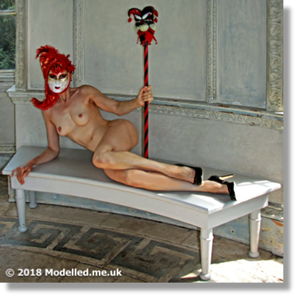 "Rosemarie is a Talented, Experienced and ""Inspirational"" Figurative Model"
