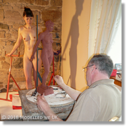 Often working one to one over a protracted period with sculptors - Rosemarie's interpersonal skills are renowned